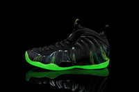 Wholesale lighted one param Men s Basketball Athletic Sport Shoes black green us size