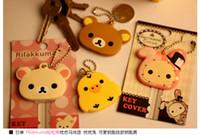 Wholesale Kawaii Animal Silicon Key Caps Covers Keys Keychain Case Shell Novelty Item Christmas Gift