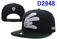 Wholesale HOT New Black unkut Snapback Hats Snapback Hats flat fitty snapback caps hats New style Snapbacks Baseball Caps Men Sports Cap