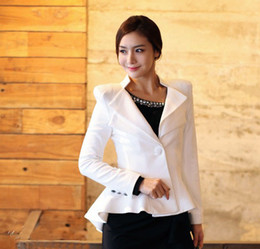 Wholesale 2013 Spring new short coat Korean Women Slim small suit small suit tuxedo temperament