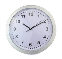 Wholesale New Creative Clock Safe Storage Box Jewelry Hidden Silver Y4042D