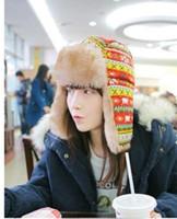 Wholesale Hot winter Lei Feng hat warm hat thickening cotton cap qjq404