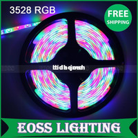 Wholesale EOSS Lighting M warm white cool white blue green red LED Strip SMD Flexible light led m outdoor waterproof string