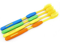 Adults   Bamboo charcoal toothbrush Adult Nano Toothbrush Bamboo Charcoal Dental Care Tooths Health Travel Family Factory Offer DHL FREE 300PCS LOT