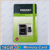 Wholesale KingMax GB Micro SD TF Memory Card Class SDHC Cards Blister packing T093 O096M