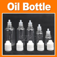 Wholesale Plastic Dropper Bottle Empty E Liquid Bottle Oil Bottle Mixed Size ml mult color via DHL