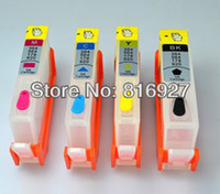 Wholesale guaranteed For hp920 officejet refillable ink cartridge with permanent chips
