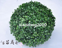 brand new artificial grass - High Quality Dia cm quot Length Artificial Green Grass Ball Simulation Milan Grasses Plastic Flowers Home Decoration