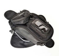 black 35.5 cm PVC Brand New Black Oil Fuel Tank Bag Magnetic Motorcycle Motorbike Oil Fuel Tank Bag