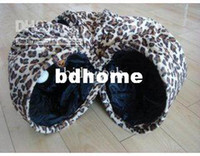 Wholesale Leopard Pattern Pet Channel Cat Tunnel Toy Dog Toy