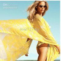 Wholesale New coming lady scarf with tassel Bohemia lady shawls long scarf beach shawls chiffon scarves sarongs