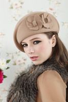 Wholesale 2014 New Arrival beret Cap Women Hat Winter Caps Knitted Hats For Woman Twist Lady s Headwear Delicate Colors qjq409