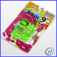 Wholesale R SIM RSIM PRO Unlock Sim card for iPhone S S C GSM WCDMA iOS7