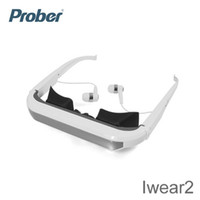Wholesale New style inch for apple iPhone video glasses special Iwear2 head mounted display with high quality DHL