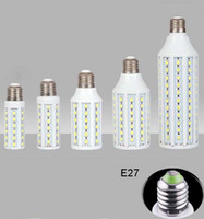Wholesale LED Corn Light Lamp E27 SMD W W W W W W W Bulb V V Super Brigh Angle Warm Pure White Led Lights Long service life