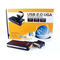 Wholesale S9Q P UGA USB To DVI HDMI VGA Adapter Converter Multi Display Graphics Card AAAALS