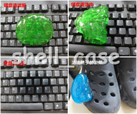 Wholesale Christmas Latest Design Magic High Tech Cleaner Compound Crystal or Solid Slimy Gel Keyboard Cleaner Super Computer Cleaner Retail Packaage
