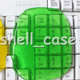 Wholesale Newest Christmas Magic High Tech Cleaner Compound Crystal or Solid Slimy Gel Keyboard Cleaner Super Computer Cleaner Retail Packaage