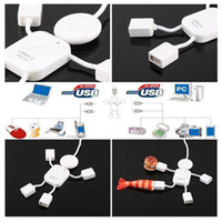 Wholesale S5Q Ports USB Hi Speed Geek Hub Splitter Adapter For Mac Macbook PC Laptop New AAAAEC