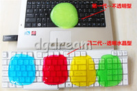 Wholesale Hot Magic Dust Cleaning High Tech Transparent Cleaner Compound Slimy Gel keyboard cleaner super computer cleaner monito for Keyboard Laptop