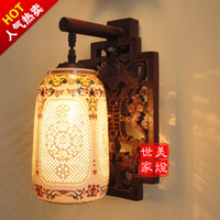 other other other free shipping Chinese style lamp antique ming and qing furniture decoration lighting ceramic lamp wall lamp wall lamp