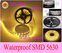 Super bright 5M warm White LED Strip 5630 SMD 1M 60LED Flexi...