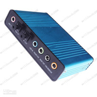 Wholesale External Sound Card Surround USB Powered Laptop Notebook PC Adapter Audio C339 MYY7499