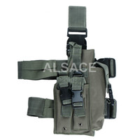 holster airsoft tactical gear - Outdoor Tactical gear Polyester Wargame and Airsoft equipement ALH Desert Eagle Thigh Holster