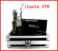 Wholesale New itaste VTR electronic cigarette kit Model ML iClear S atomizer Clearomizer vaporizer Innokin iTaste VTR ego kit DHL Free