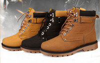 Wholesale High Quality Men Martin Boots Lace up First Class Uppers Durable Slip Resistant Rubber Outsole Unique Design Flexible Buckle