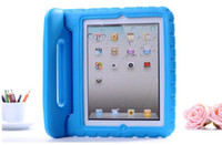 Wholesale Kids Safe Portable Shockproof Protection Case Cover Shell for New iPad iPad mini EVA Foam Handle Stand
