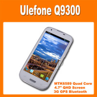 4.7 1G Dual SIM Ulefone Q9300 MTK6589 Quad Core 1.2GHz 4.7 Inch QHD Screen Android 4.2 Smart Phone 12.0MP Camera 3G GPS Bluetooth (0301165)