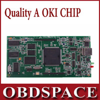 Cheap TCS SCANNER TCS CDP Prog (M6636B OKI Chip) for cars&trucks with bluetooth