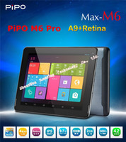 Wholesale New Arrival Pipo M6 pro G Wifi Quad core tablet PC Android RK3188 GB RAM G ROM inch IPS Retina x1536 HDMI