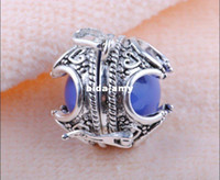 Wholesale A015 Nice fashion Mexico Ball Thai Silver Harmony Ball bell Charm Pendant Pregnant women ball