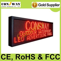 Wholesale led programmable display screen with red color and size cm W cm H cm D