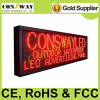 Wholesale programmable led display board with red color and size cm W cm H cm D