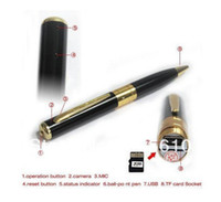 Wholesale Special Pen Camera PEN Video Recorder pen DVR Camcorder retail and whole sale