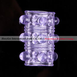 Wholesale sex product adult toys soft bump sleeve cockring non shock penis ring O ring XQ