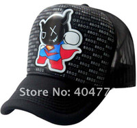 Wholesale Fashion Cartoon Super Andox Casual Hiphop Baseball Cap Mesh Sun Hat Truck Caps Sunbonnet Unisex Adjustable colors