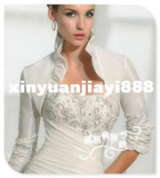 Cheap Jacket Bridal Wraps & Jackets Best Taffeta Elbow Bridal Jackets