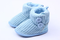 Winter Fashion Boots Ankle Blue woolen winter Boots , 0-1years baby shoes,soft soles, UGG boots,Prevent slippery,Baby Footwear, first baby step Shoes, 3pairs set