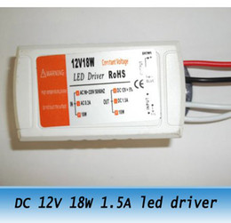 10pcs DC 220V-240V 12V 1.5A 18W led light transformer LED constant voltage power supply adapter