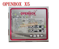Wholesale Openbox X5 HD full p Satellite Receiver support Youtube Gmail Google Maps Weather CCcam Newcamd Factory price p DHL