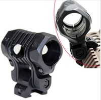 airsoft helmet rails - Tactical Airsoft Paintball Position Adjustable quot Flashlight Mount Fits mm rail Support Handguard Helmet Picatinny Adapter