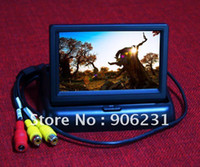Wholesale High Quality Sellable quot TFT LCD Foldable Car Dashboard Rear View Car Monitor