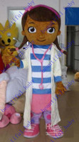 Mascot Costumes People Occupational Hot New Custom made Doc McStuffins mascot costume party costumes fancy animal character mascot dress amusement park outfitt