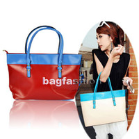 Wholesale Korean Style PU Leather Satchel bag Luggage Tote shoulder large Bag for girl Ladies Handbag fashion Abic