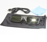 Wholesale Brand Active Liquid Crystal Shutter D Glasses for D DLP LINK Ready Projector CX