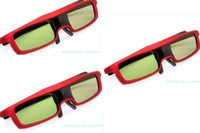 Wholesale X Red D Active Shutter Glasses For BenQ Optoma DLP Link Projector TV CX